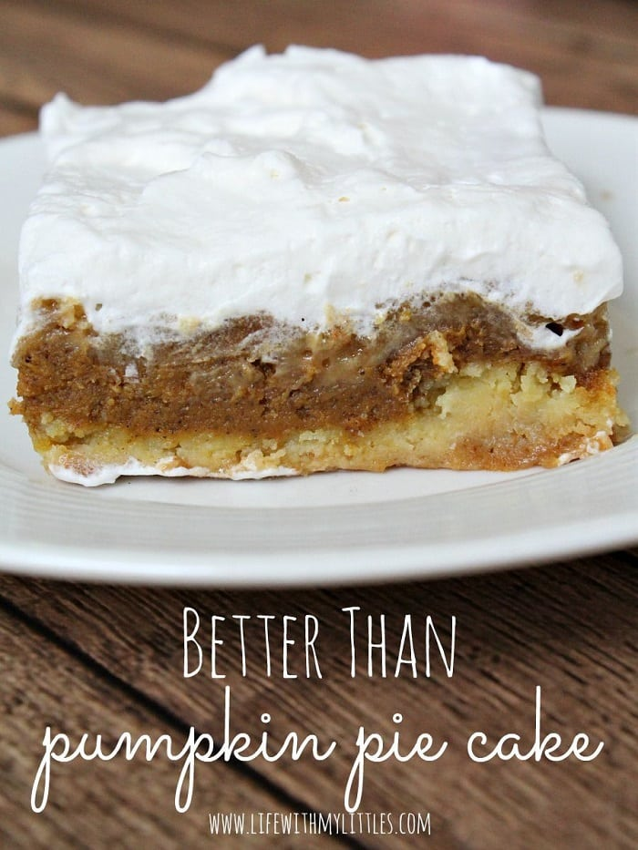 Better Thank Pumpkin Pie Cake