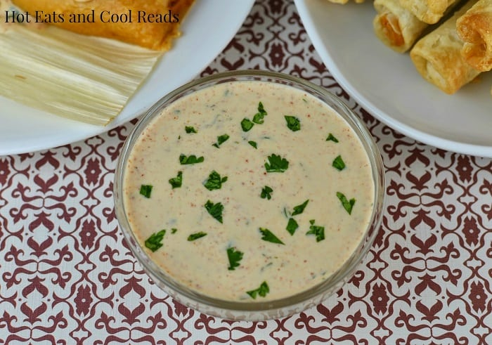 Cilantro Lime Buttermilk Dipping Sauce