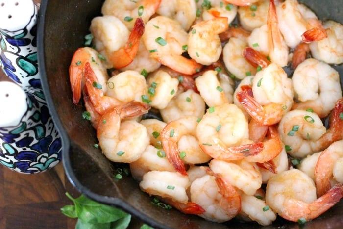 Easy Honey Garlic Shrimp Recipe