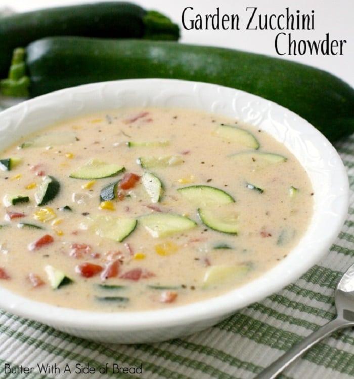 Garden Zucchini Chowder