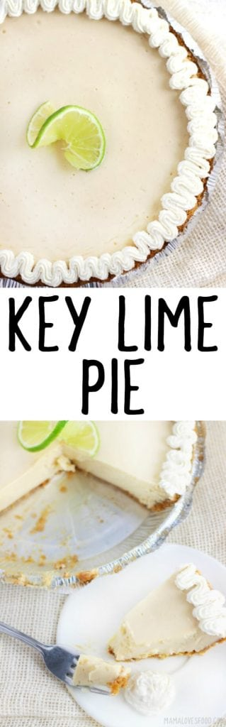 HOW TO MAKE KEYLIME PIE