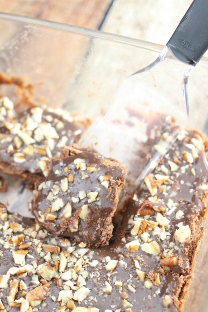 Salted Chocolate Caramel Bars