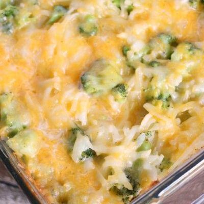 Broccoli Cheese Potato Casserole