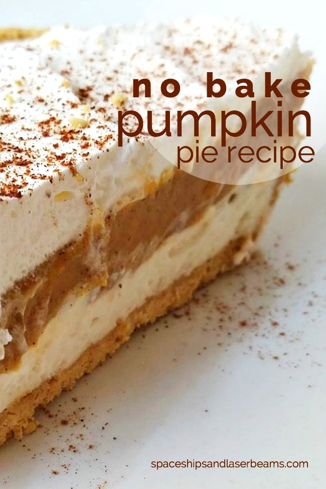 No Bake Pumpkin Pie Recipe