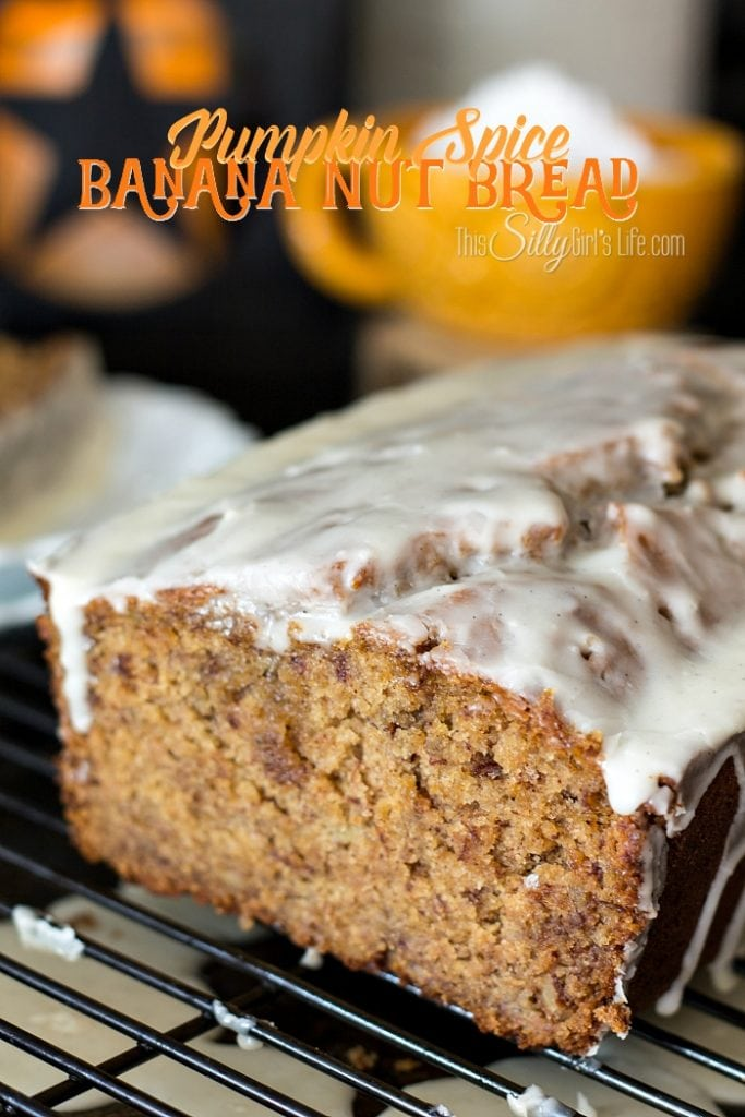 Pumpkin Spice Banana Nut Bread