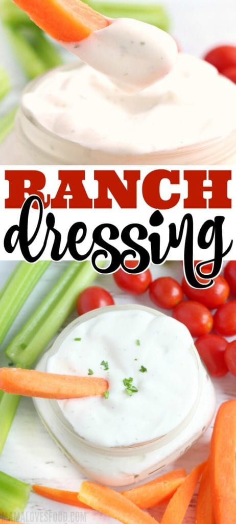 RANCH DRESSING RECIPES