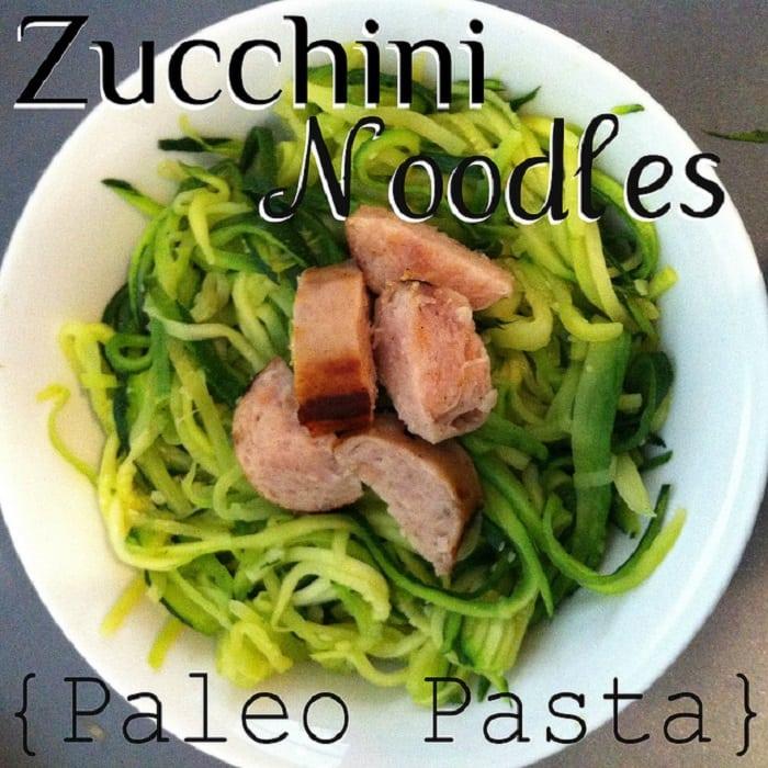 Zucchini Noodles (Paleo Pasta)