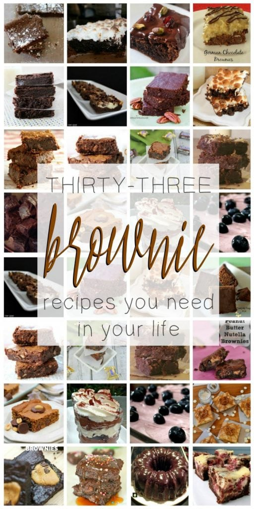 The Ultimate Collection of Brownie Recipes