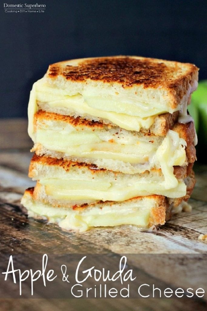Apple and Gouda Grilled Cheese
