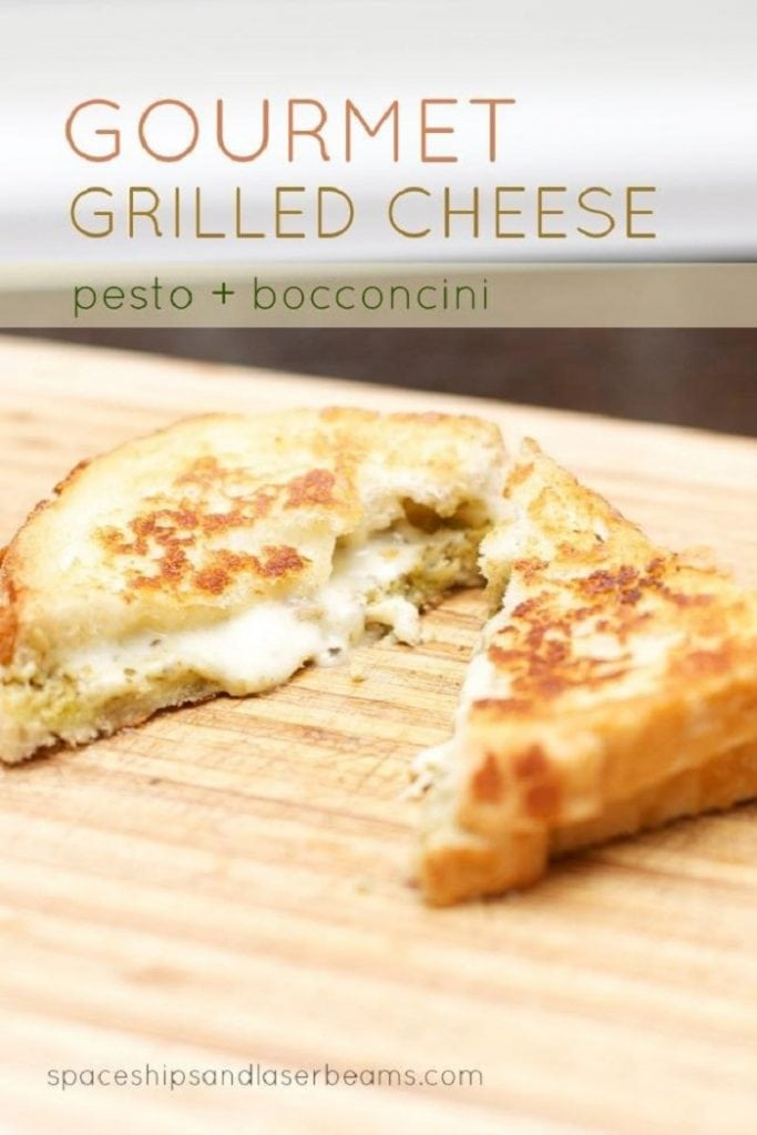 Easy Gourmet Grilled Cheese