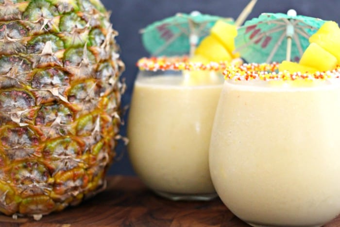 Pineapple & Coconut Frozen Sweet Tea Recipe