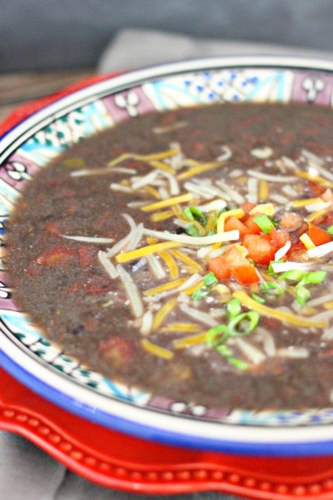 Easy Black Bean Soup Recipe