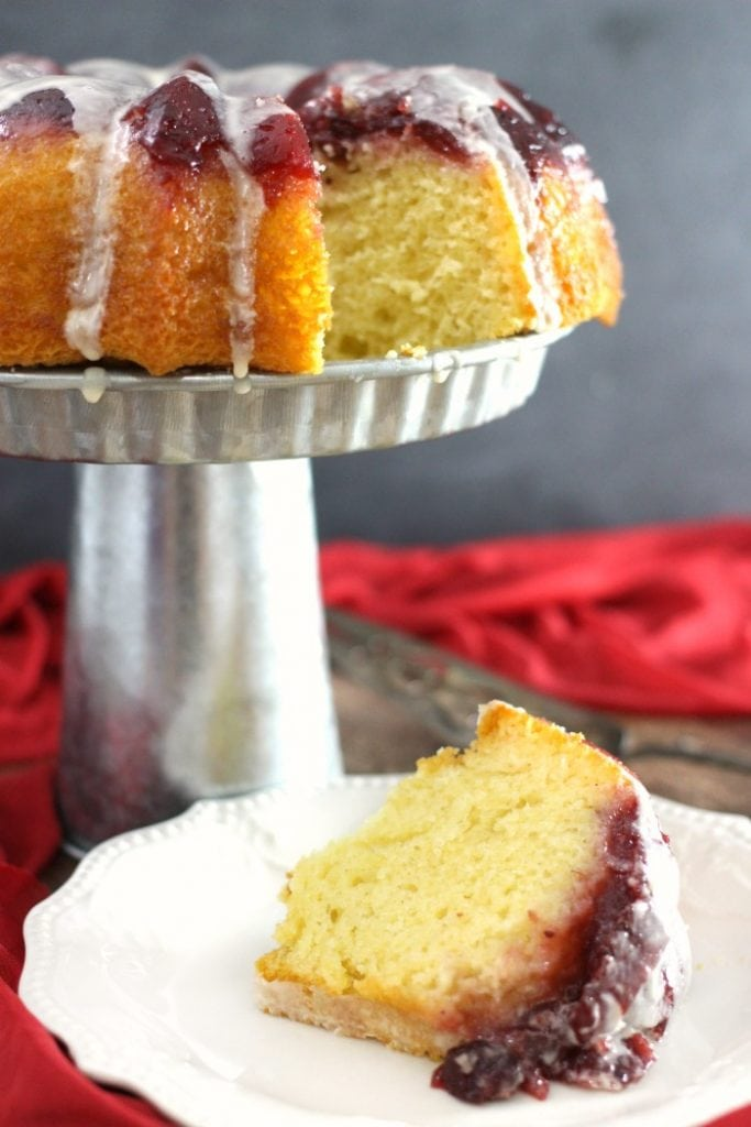 Easy Cranberry Upside Down Cake With Cake Mix