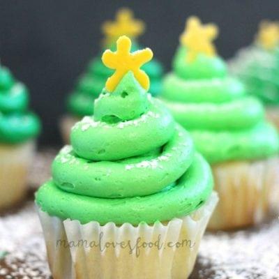 Christmas Tree Cupcake Recipe – How to Make an Easy Christmas Tree Cupcake