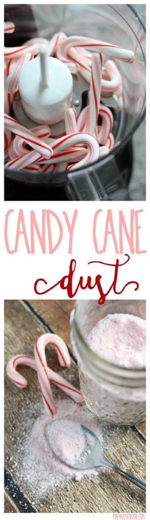 Peppermint Candy Cane Dust Peppermint Powder Recipe for Coffee and Desserts