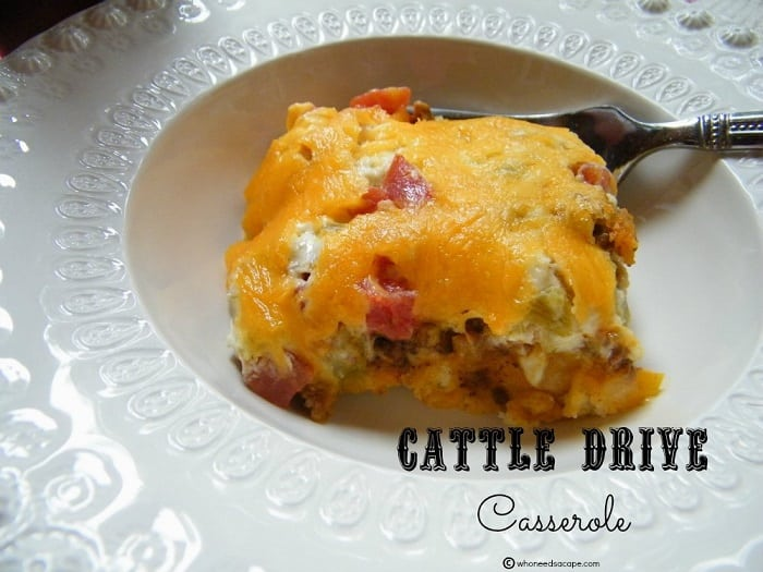 Cattle Drive Casserole