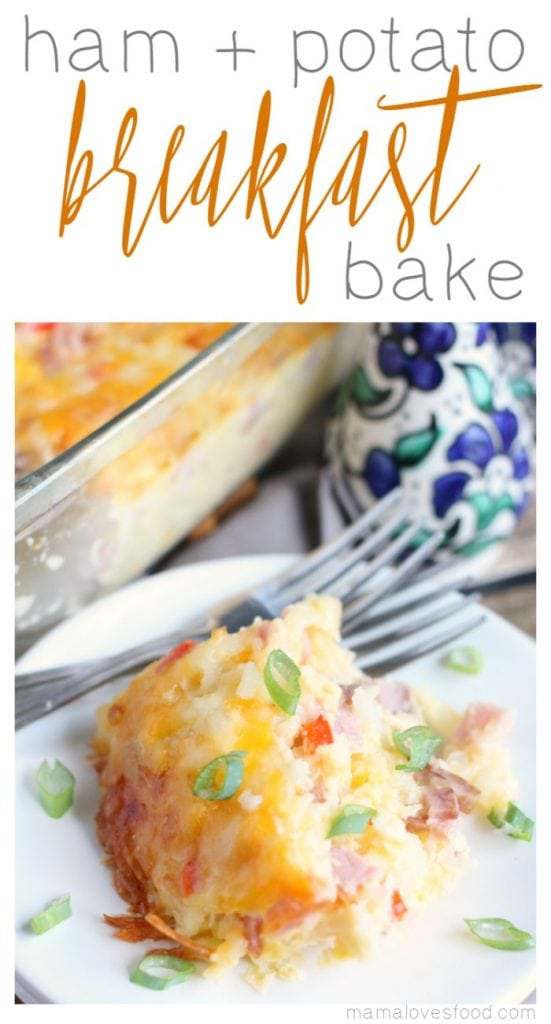 Ham & Potato Breakfast Casserole