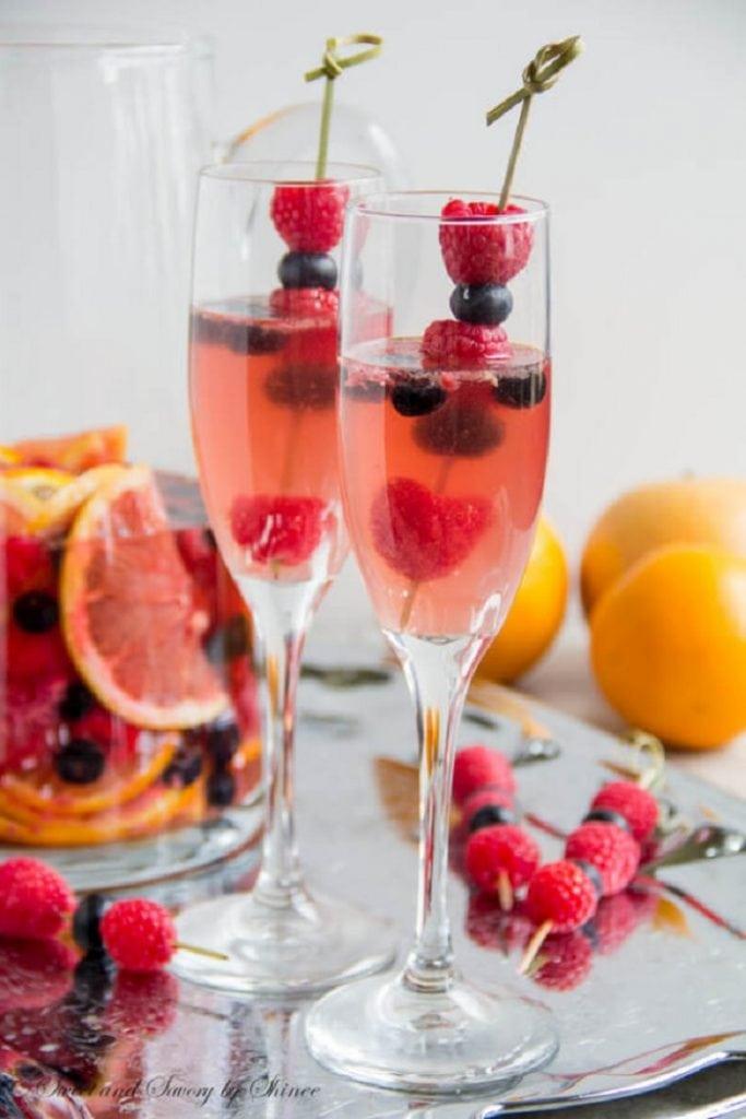 Fruity Moscato Sangria