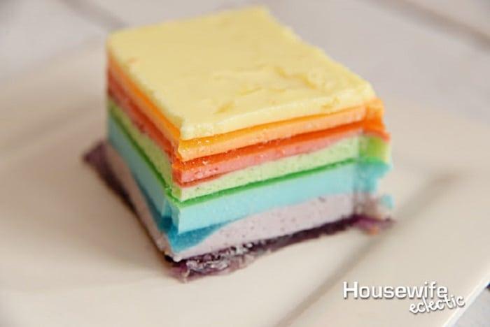 12 Layer Rainbow Jello