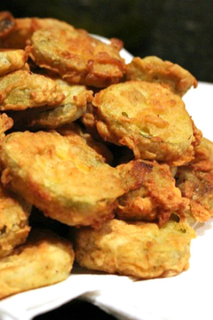 How do you make fried pickles on the stove