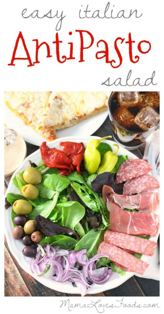 Italian Antipasto Salad Recipe