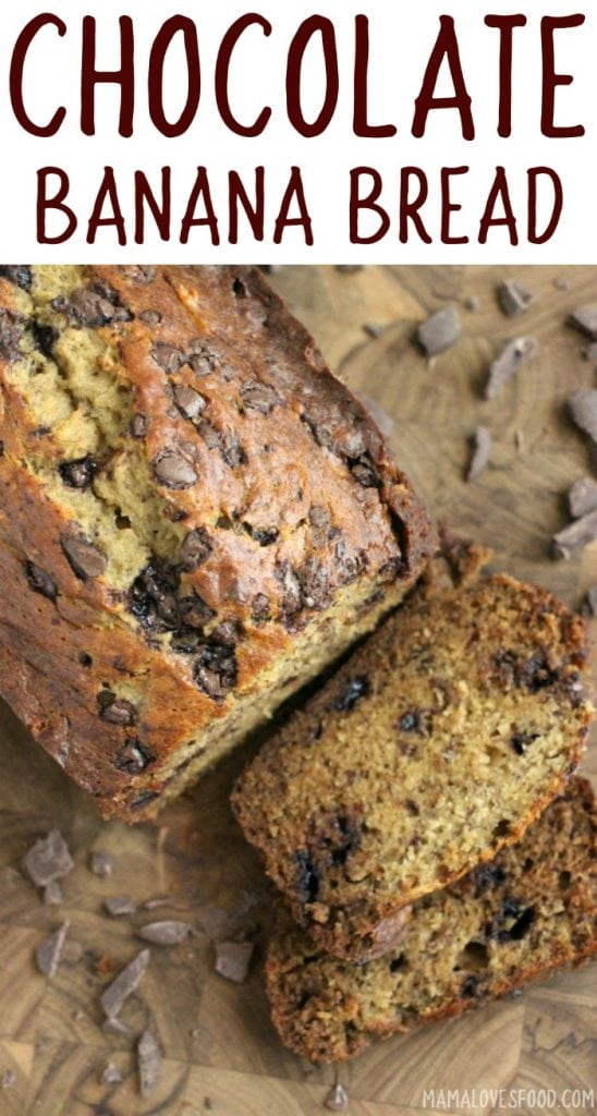 simple banana bread recipe with chocolate chips