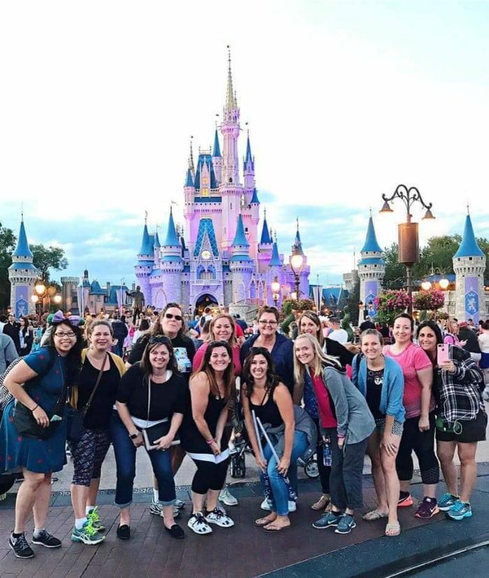 Visiting Magic Kingdom for Blog Better Orlando Retreat