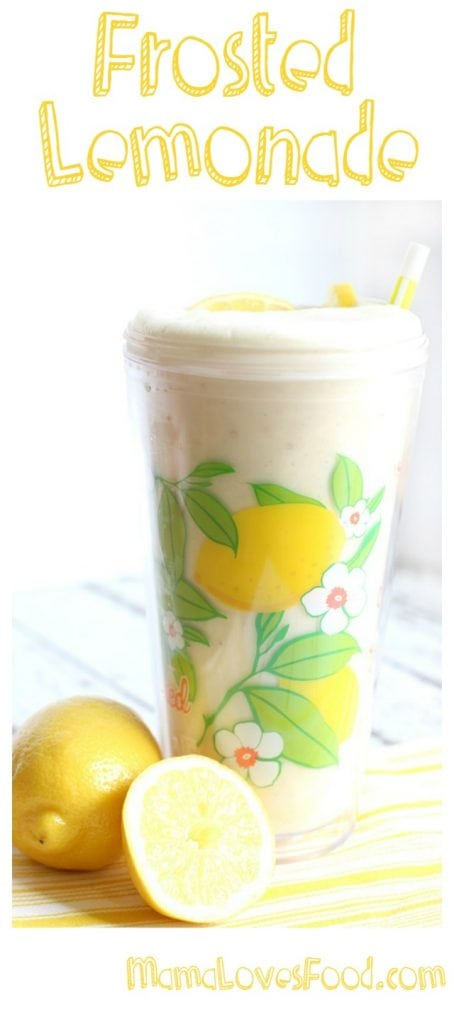 Frosted Lemonade Chick fil a Recipe