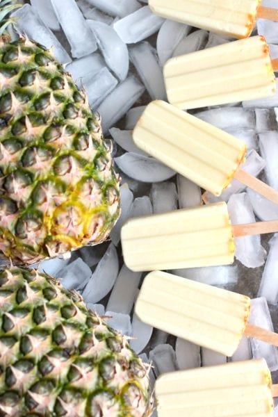Dole Whip Creamy Pineapple Popsicles Recipe