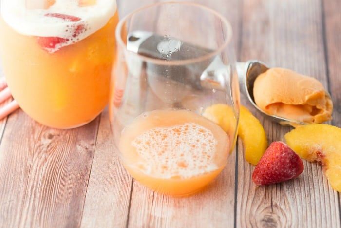 peach punch recipe