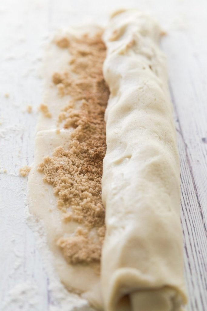 Cinnamon Bun Sugar Cookie Recipe