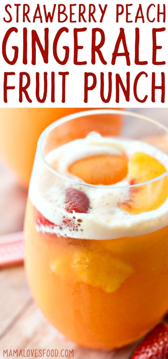 Sherbet Punch Best Party Punch Recipe Mama Loves Food