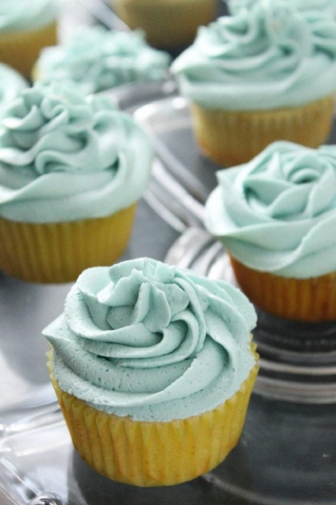 Simple Vanilla Cupcakes From Scratch