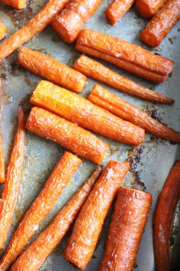 carrots and garlic