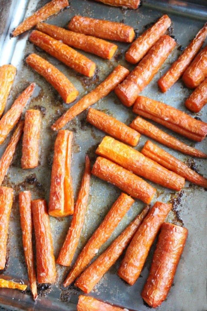 garlic carrots