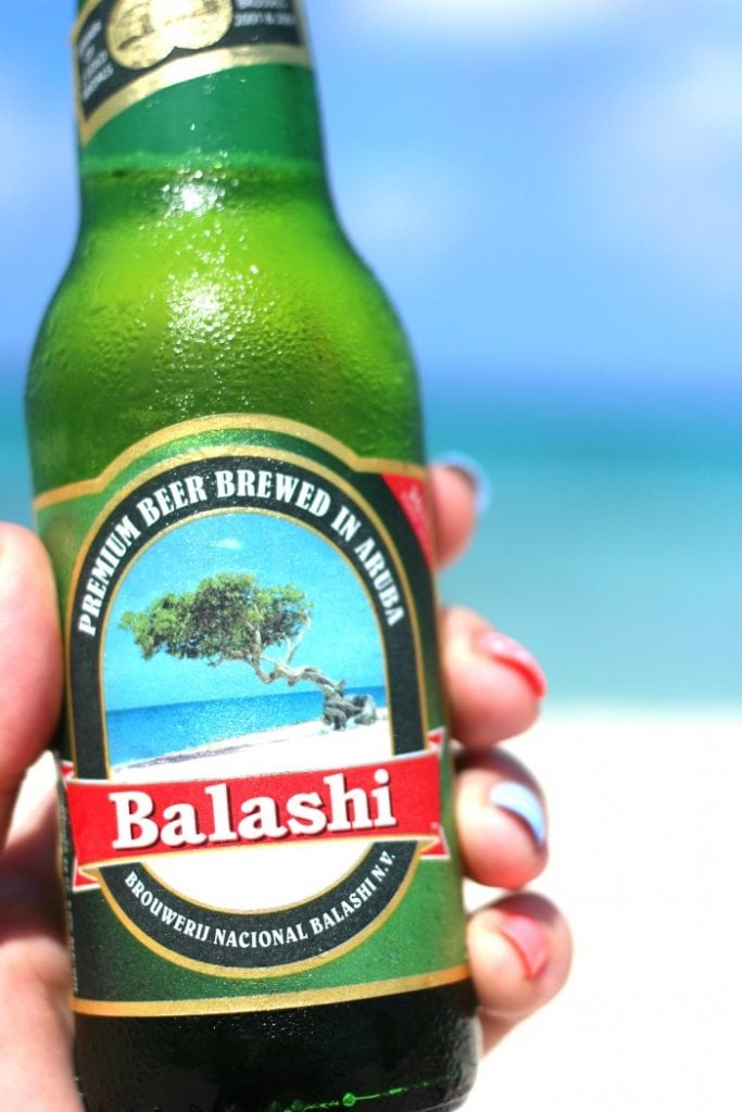 balashi is the local beer in aruba