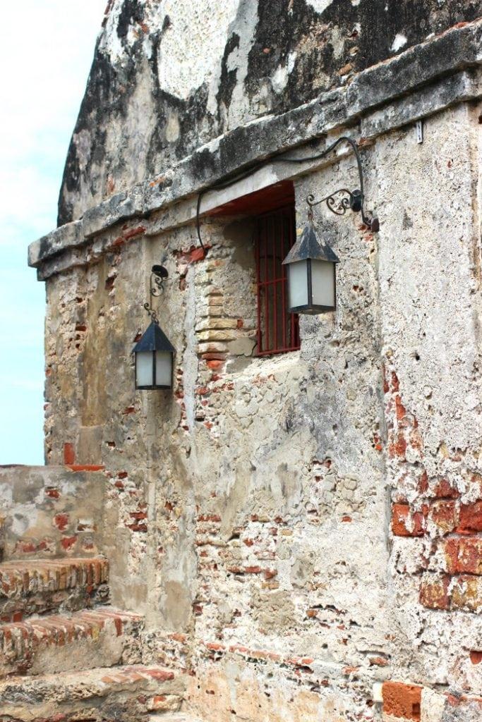 european spanish architecture in cartagena colombia