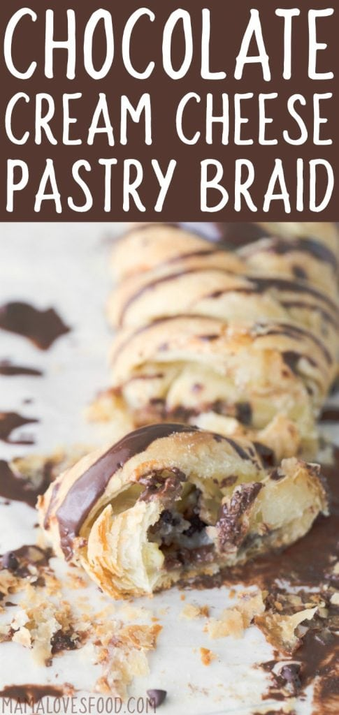 Chocolate Cream Cheese Pastry Braid Recipe - How to Make a Flaky and Delicious Cream Cheese and Pastry