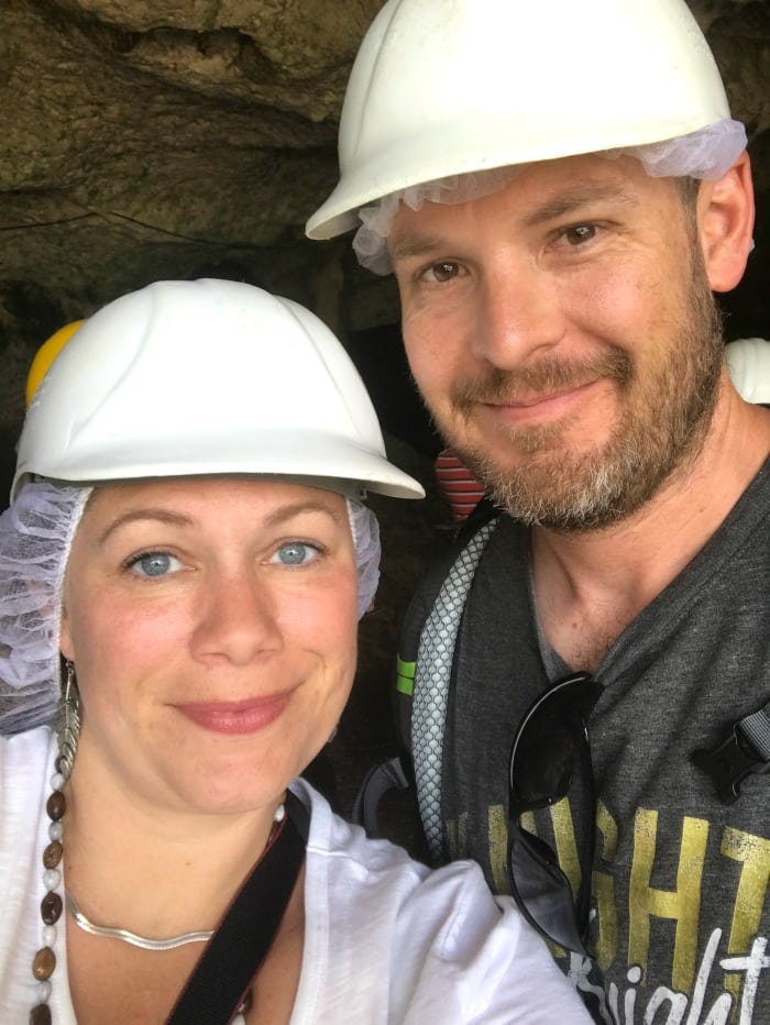 visiting the green grotto caves in jamaica
