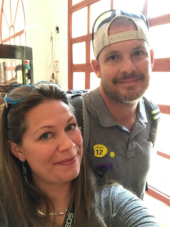 visiting cartagena colombia with husband