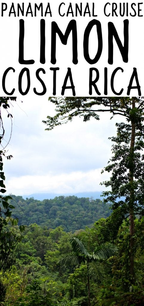 Visiting Limon Costa Rica - Ten Day Cruise through the Panama Canal