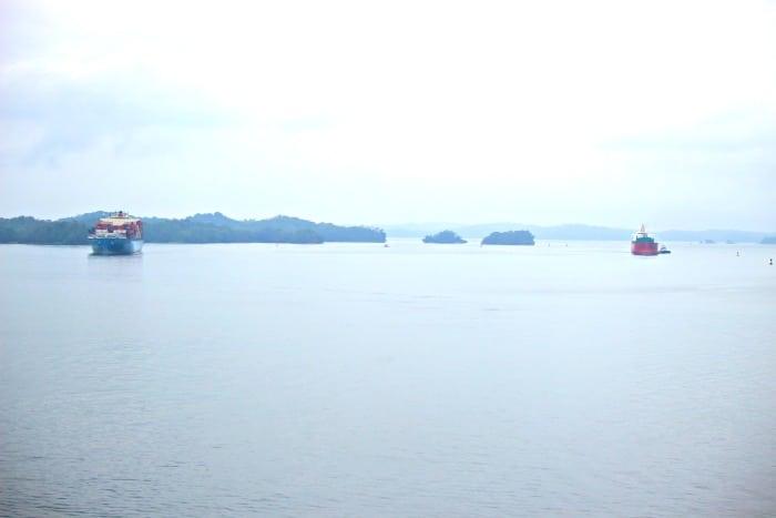 gatun lake for the panama canal lock system