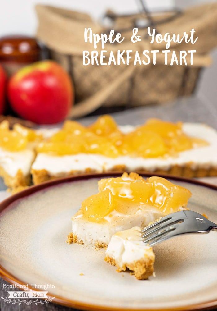 Apple & Yogurt Breakfast Tart