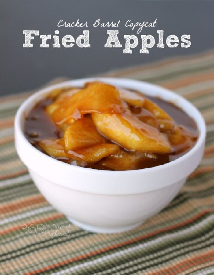 Cracker Barrel Copycat Fried Apples