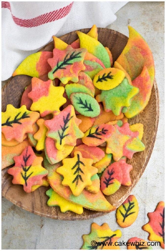 Fall Leaves Sugar Cookies