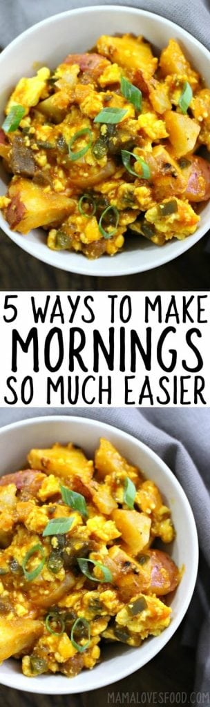 how to make a simple morning routine for your family