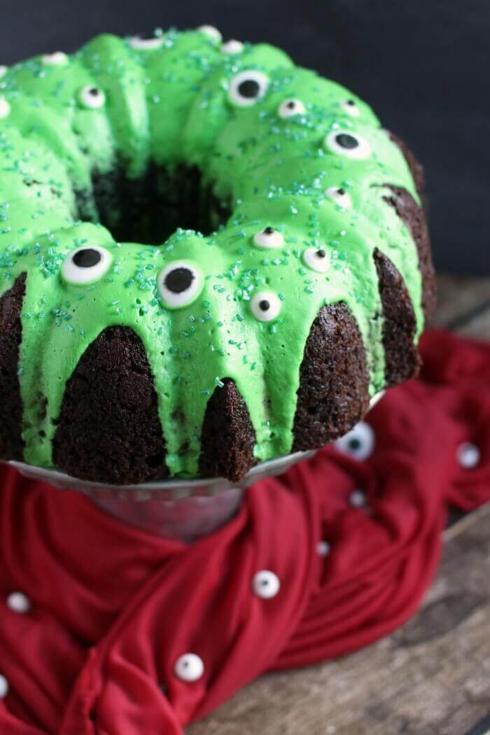 Easy Chocolate Monster Bundt Cake Recipes
