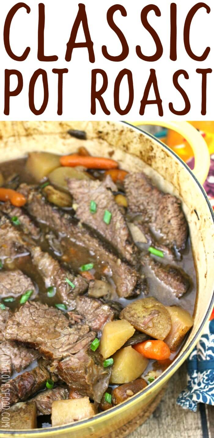 BEEF POT ROAST IN THE OVEN