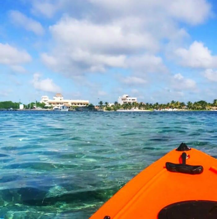 KAYAKING IN COSTA MAYA MEXICO WITH PRINCESS CRUISE
