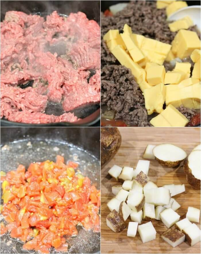 CHEESEBURGER SOUP INGREDIENTS